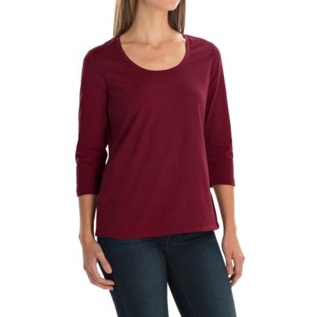 Neon Buddha Lola Stretch Cotton T-Shirt - 3/4 Sleeve (For Women)