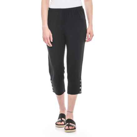 Neon Buddha Luna Capris (For Women) in Black - Closeouts