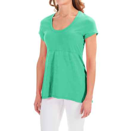 Neon Buddha Memphis T-Shirt - Scoop Neck, Short Sleeve (For Women) in Goodnight Mint - Closeouts