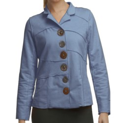 Neon Buddha Merritt Patchwork Jacket - French Terry (For Women) in Lifestyle Blue