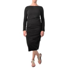 Neon Buddha Metro Dress - Long Sleeve (For Women) in Black - Closeouts