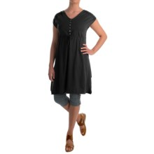 Neon Buddha Morning Rain Dress - Stretch Cotton, Sleeveless (For Women) in Black - Closeouts