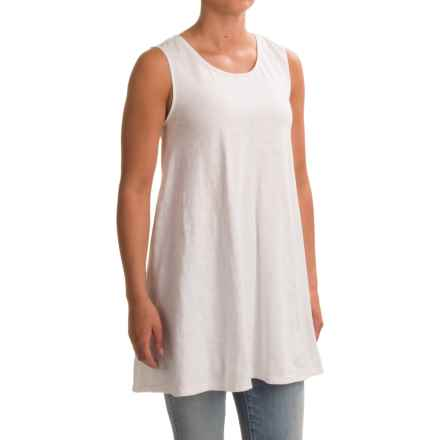 Neon Buddha Morning Tunic Tank Top (For Women) in Barry White - Closeouts