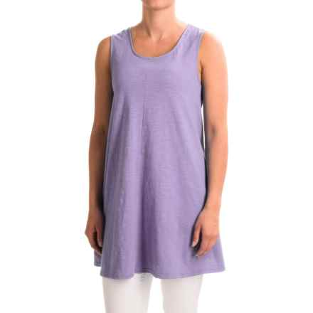 Neon Buddha Morning Tunic Tank Top (For Women) in Lavender - Closeouts