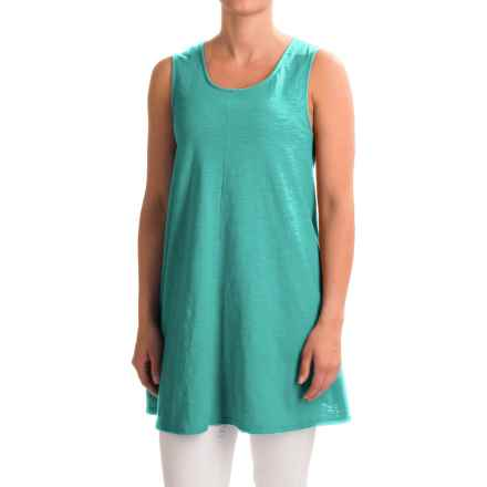 Neon Buddha Morning Tunic Tank Top (For Women) in Winter Turquoise - Closeouts