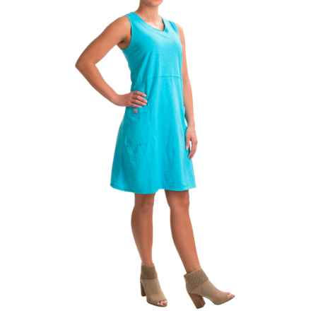 Neon Buddha Napa Tank Dress - Sleeveless (For Women) in Turquoise - Closeouts
