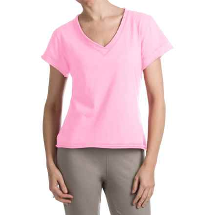 Neon Buddha Nirvana T-Shirt - Stretch Cotton, Short Sleeve (For Women) in Peggy Sue Blush - Closeouts