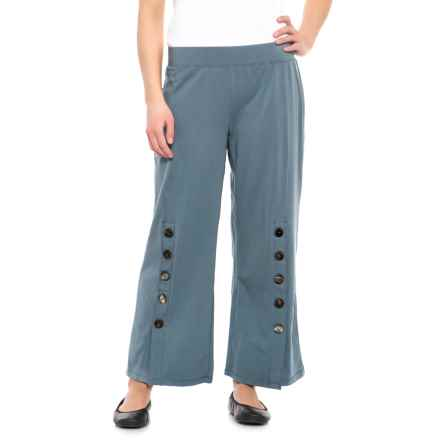 Neon Buddha Oh Boy Crop Pants (For Women) in Valley Blue - Closeouts