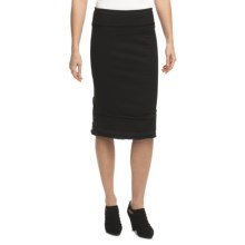 Neon Buddha Ossi French Terry Skirt (For Women) in Black - Closeouts
