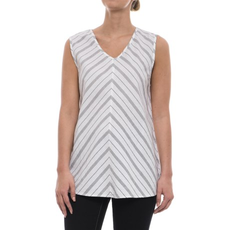 Neon Buddha Palmdale Shirt - Linen-Rayon, Sleeveless (For Women) in Barry White