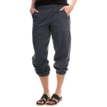 Neon Buddha Rhonda Joggers - Stretch Cotton (For Women) in Black - Closeouts