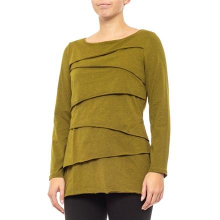9c2e9733c4407a Neon Buddha Rich Moss Inspired Layered Shirt - Long Sleeve (For Women) in  Rich