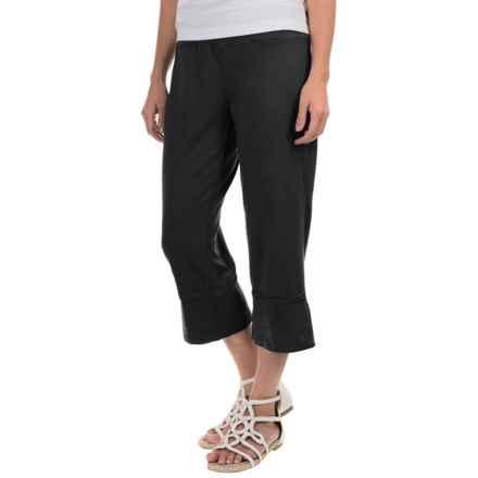 Neon Buddha Roberta Capris - Stretch Cotton (For Women) in Black - Closeouts