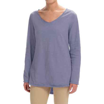 Neon Buddha Runaway Split-Back Shirt - Long Sleeve (For Women) in Lavender - Closeouts