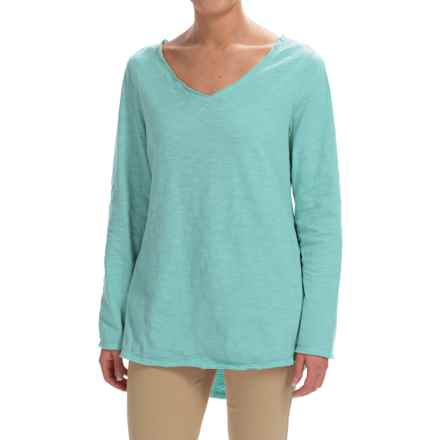 Neon Buddha Runaway Split-Back Shirt - Long Sleeve (For Women) in Refined Mint - Closeouts