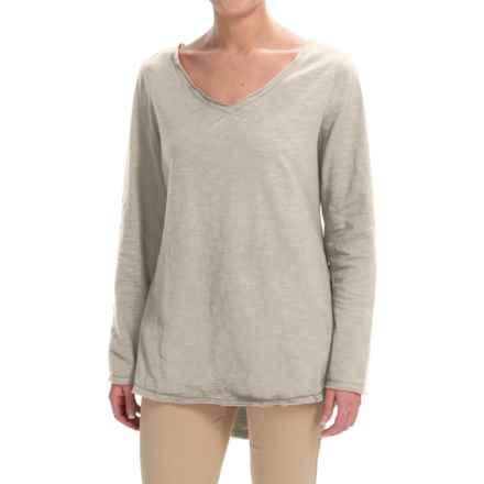 Neon Buddha Runaway Split-Back Shirt - Long Sleeve (For Women) in Rich Sand - Closeouts