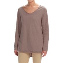 Neon Buddha Runaway Split-Back Shirt - Long Sleeve (For Women) in Taupe - Closeouts