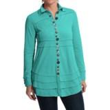 Neon Buddha Sage Shirt - Long Sleeve (For Women)