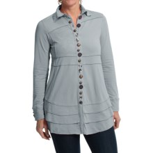 Neon Buddha Sage Shirt - Long Sleeve (For Women) in Empire Ice - Closeouts