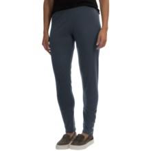 Neon Buddha Samba Button Leggings - Stretch Cotton (For Women) in Explorer Navy - Closeouts