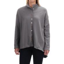 Neon Buddha Shopping Shirt - Long Sleeve (For Women) in Smoke Grey - Closeouts