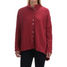 Neon Buddha Shopping Shirt - Long Sleeve (For Women) in Wine - Closeouts
