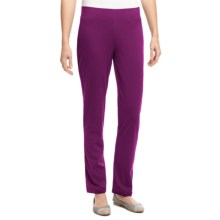 Neon Buddha Skinny Pants - Pull On (For Women) in Exquisite Plum - Overstock