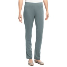 Neon Buddha Skinny Pants - Pull On (For Women) in Recycled Sage - Overstock