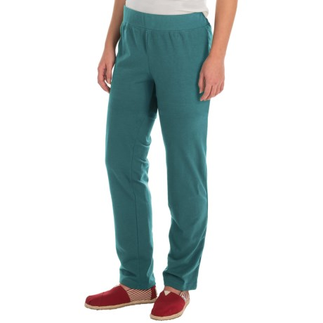 Neon Buddha Skinny Stretch Pants (For Women) in Granby Teal