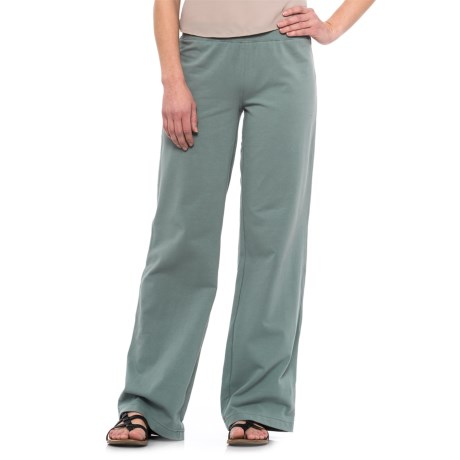 Neon Buddha Straight-Leg Pants - Stretch Cotton (For Women)