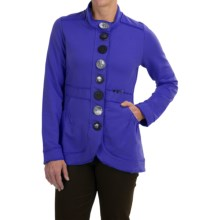 Neon Buddha Street Blazer - French Terry (For Women) in Deep Royal - Closeouts