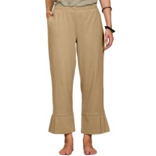 Neon Buddha Studio Swing Ankle Pants - Stretch Cotton (For Women) in Khaki - Closeouts