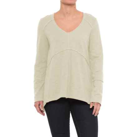 Neon Buddha Tambourine Shirt - Long Sleeve (For Women) in Vintage Sage - Closeouts