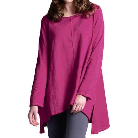 Neon Buddha Travel Tunic Shirt - Long Sleeve (For Women) in Berry - Closeouts