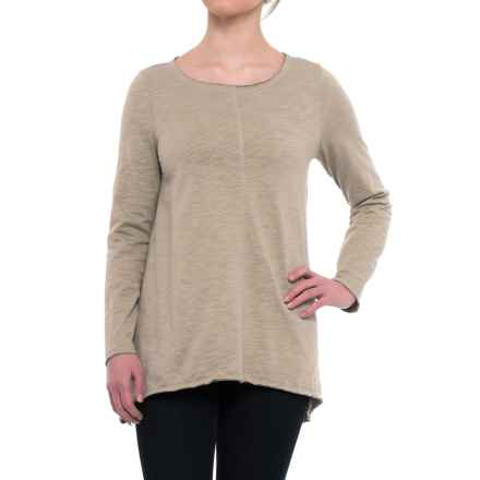 Neon Buddha Travel Tunic Shirt - Long Sleeve (For Women) in Khaki - Closeouts