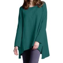 Neon Buddha Travel Tunic Shirt - Long Sleeve (For Women) in Luxury Jade - Closeouts