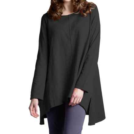 Neon Buddha Travel Tunic Shirt - Long Sleeve (For Women) in Market Black - Closeouts