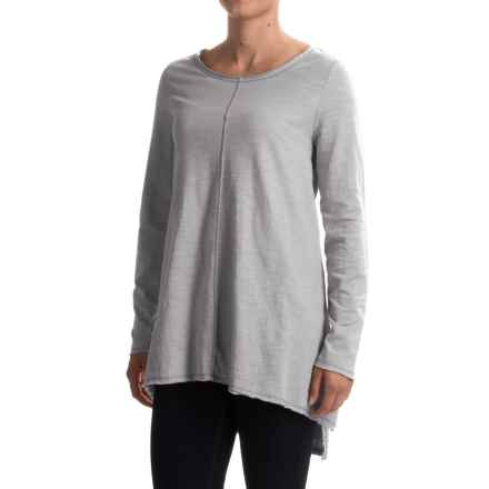 Neon Buddha Travel Tunic Shirt - Long Sleeve (For Women) in Smoke Grey - Closeouts