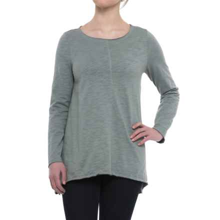 Neon Buddha Travel Tunic Shirt - Long Sleeve (For Women) in Sweet Sage - Closeouts