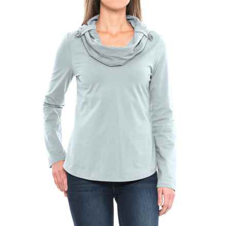 Neon Buddha Trend Cowl Neck Shirt - Long Sleeve (For Women) in Empire Ice - Closeouts