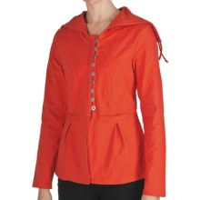 Neon Buddha Tuesday Afternoon Swing Jacket - Hooded (For Women) in 977 Bold Red - Closeouts