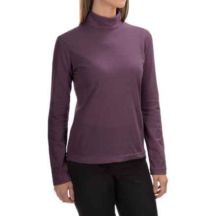Neon Buddha Turtleneck - Stretch Cotton, Long Sleeve (For Women) in Penny Lane - Closeouts