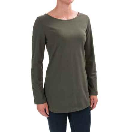 Neon Buddha Virginia Shirt - Long Sleeve (For Women) in Crocodile Rock - Closeouts