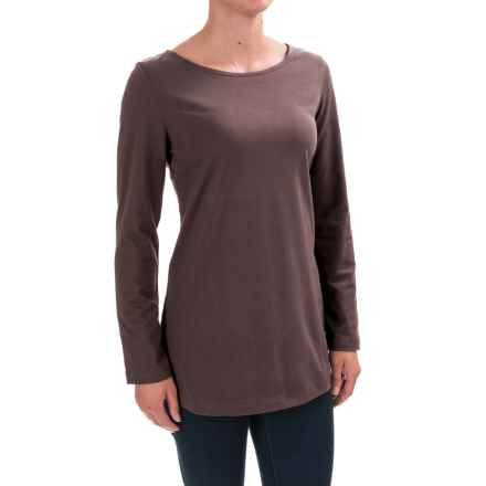 Neon Buddha Virginia Shirt - Long Sleeve (For Women) in Sustainable Charcoal - Closeouts