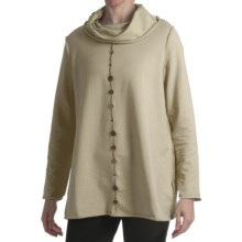 Neon Buddha Vittoria Pullover - French Terry, Long Sleeve (For Women) in Sand In Your Toes - Closeouts