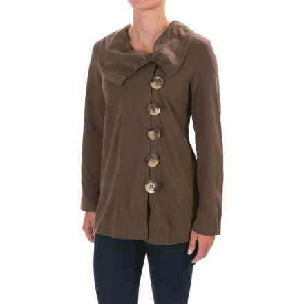 Neon Buddha Westport Jacket (For Women) in Rich Wood - Closeouts