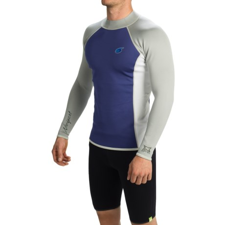 photo: Neosport Men's XSpan Long Sleeve Top long sleeve paddling shirt