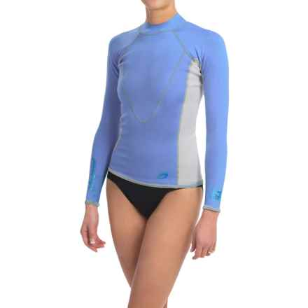Neosport XSpan Thermal Surf Top - 1.5mm, Long Sleeve (For Women) in Blue - Closeouts