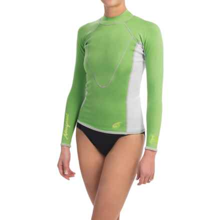 Neosport XSpan Thermal Surf Top - 1.5mm, Long Sleeve (For Women) in Green - Closeouts