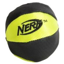 "Nerf Dog 2.5"" Trackshot Nylon Basketball Squeaker Dog Toy in Asst - Closeouts"